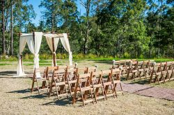 Rainforest Wedding Ceremony Space